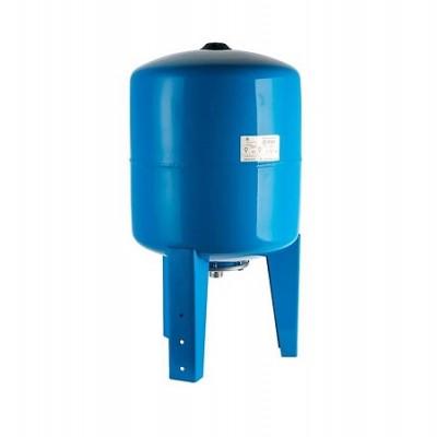 Бак расширительный (гидроаккумулятор) STOUT для водоснабжения 50л, вертикальный, синий