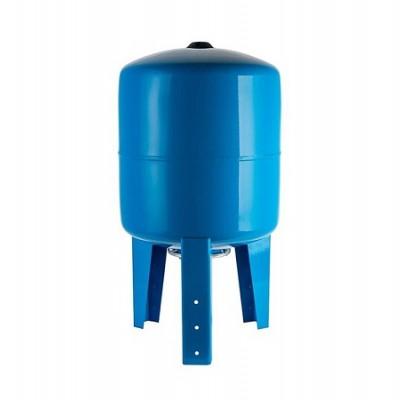 Бак расширительный (гидроаккумулятор) STOUT для водоснабжения 80л, вертикальный, синий