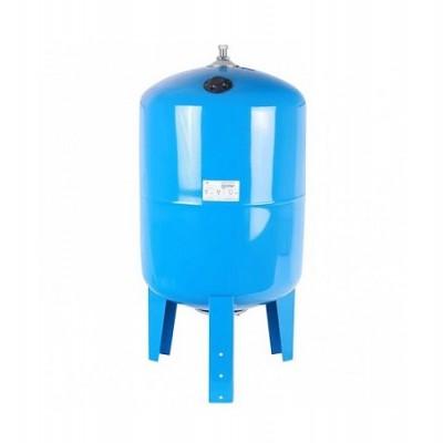 Бак расширительный (гидроаккумулятор) STOUT для водоснабжения 100л, вертикальный, синий