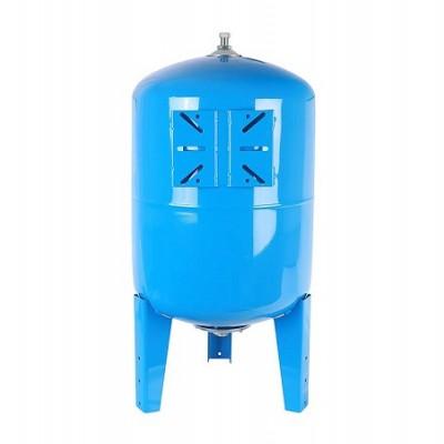 Бак расширительный (гидроаккумулятор) STOUT для водоснабжения 150л, вертикальный, синий