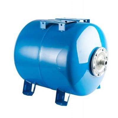 Бак расширительный (гидроаккумулятор) STOUT для водоснабжения 100л, горизонтальный, синий