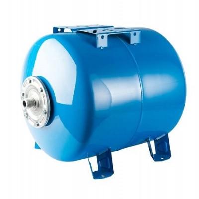 Бак расширительный (гидроаккумулятор) STOUT для водоснабжения 200л, горизонтальный, синий