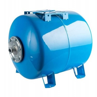 Бак расширительный (гидроаккумулятор) STOUT для водоснабжения 300л, горизонтальный, синий
