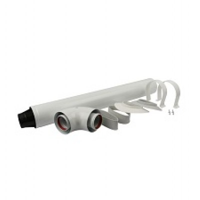 Дымоход коаксиальный для Baxi 60/100 850 мм (Stout)