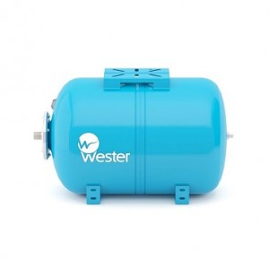 Бак расширительный для водоснабжения (гидроаккумулятор) Wester WAO100